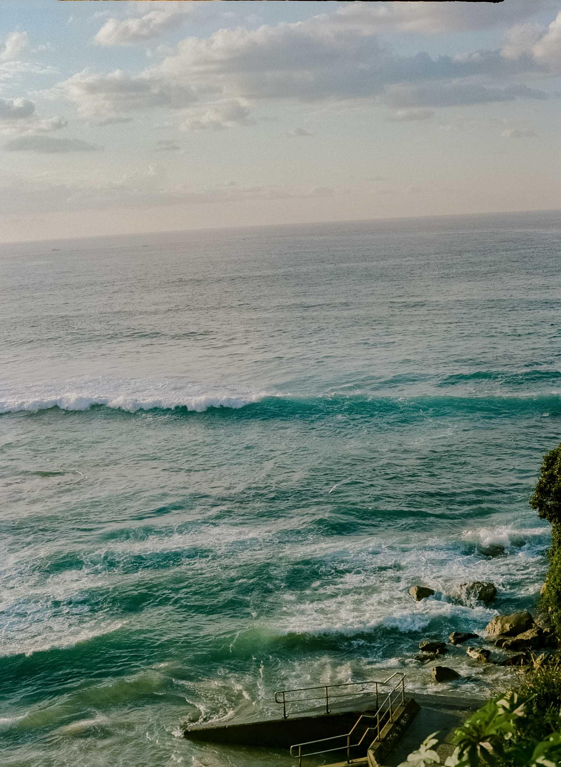 Bondi Beach, Australia, Justin Chung, Sydney, Icebergs Beach Club, Kodak