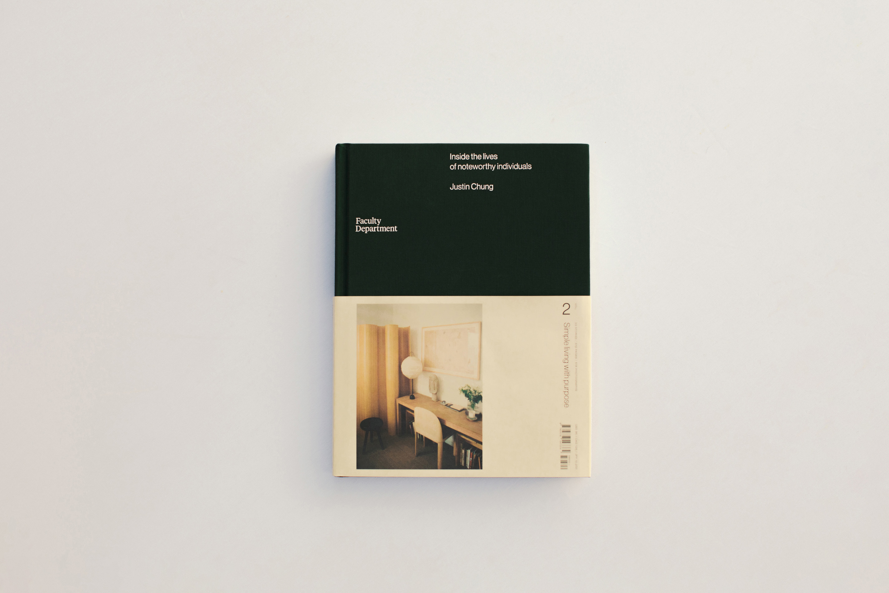 Faculty Department Volume Two, Faculty Department, Justin Chung, Book, Kodak