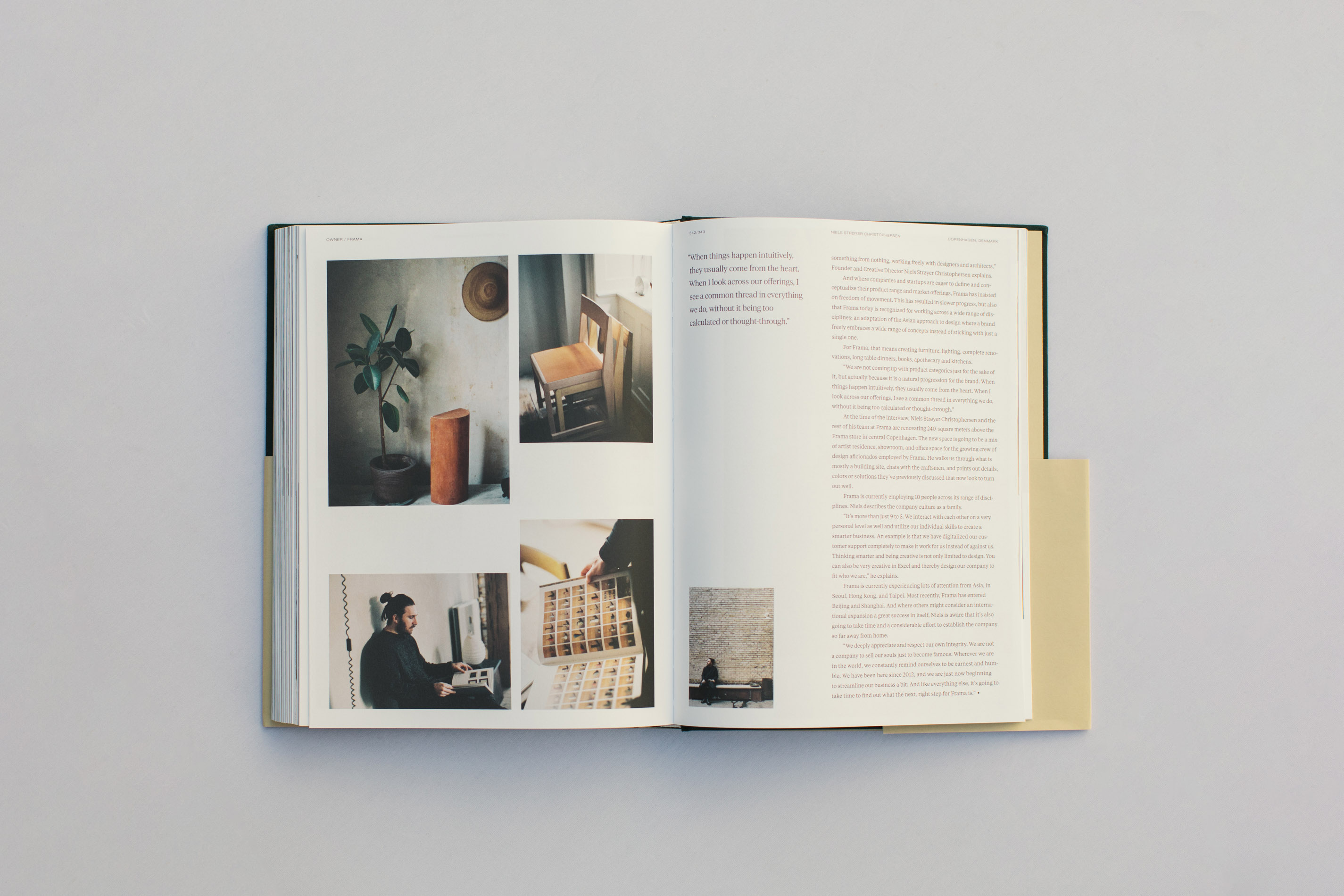 Faculty Department Volume 2, Justin Chung, Book