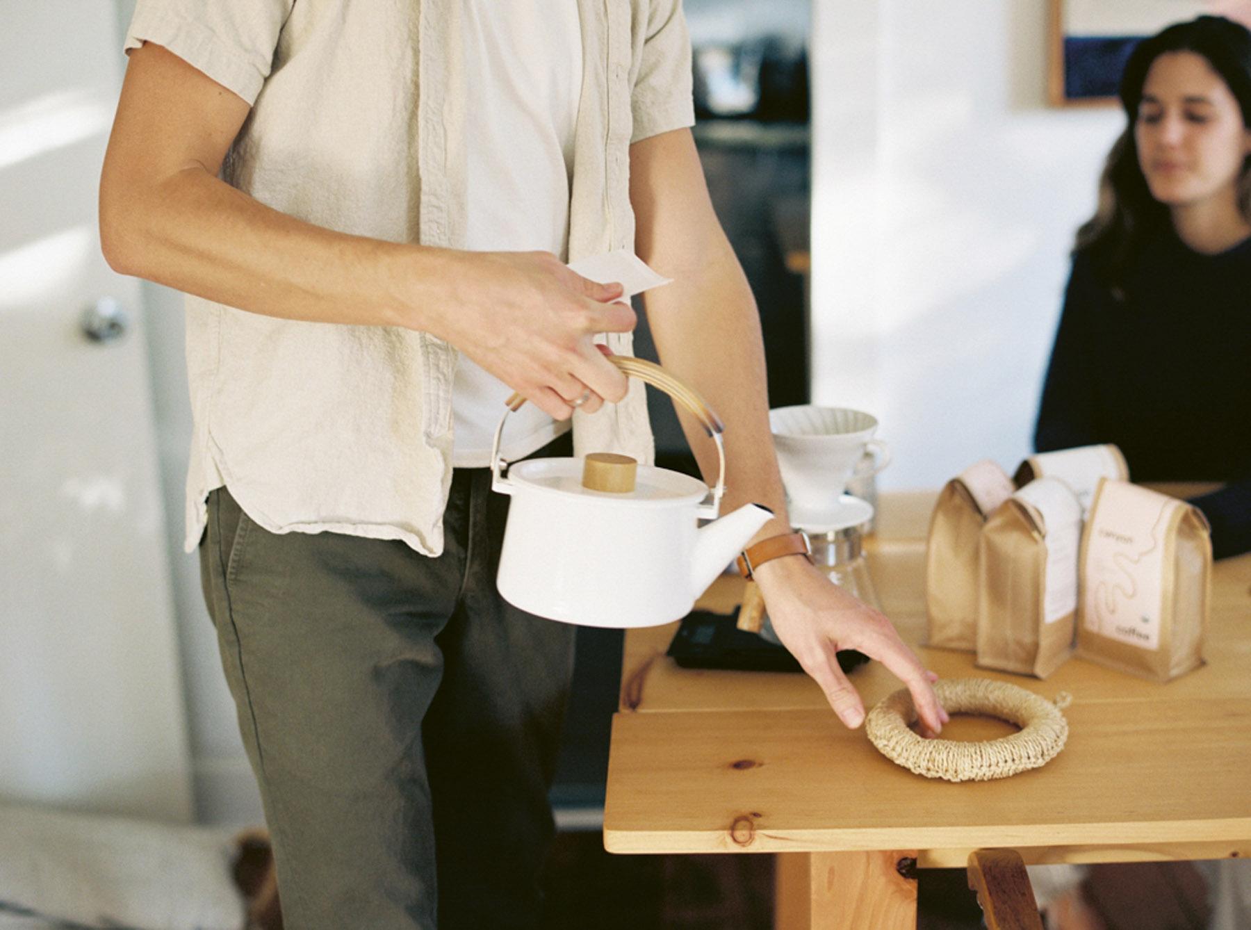 Justin Chung, Canyon Coffee, Kodak