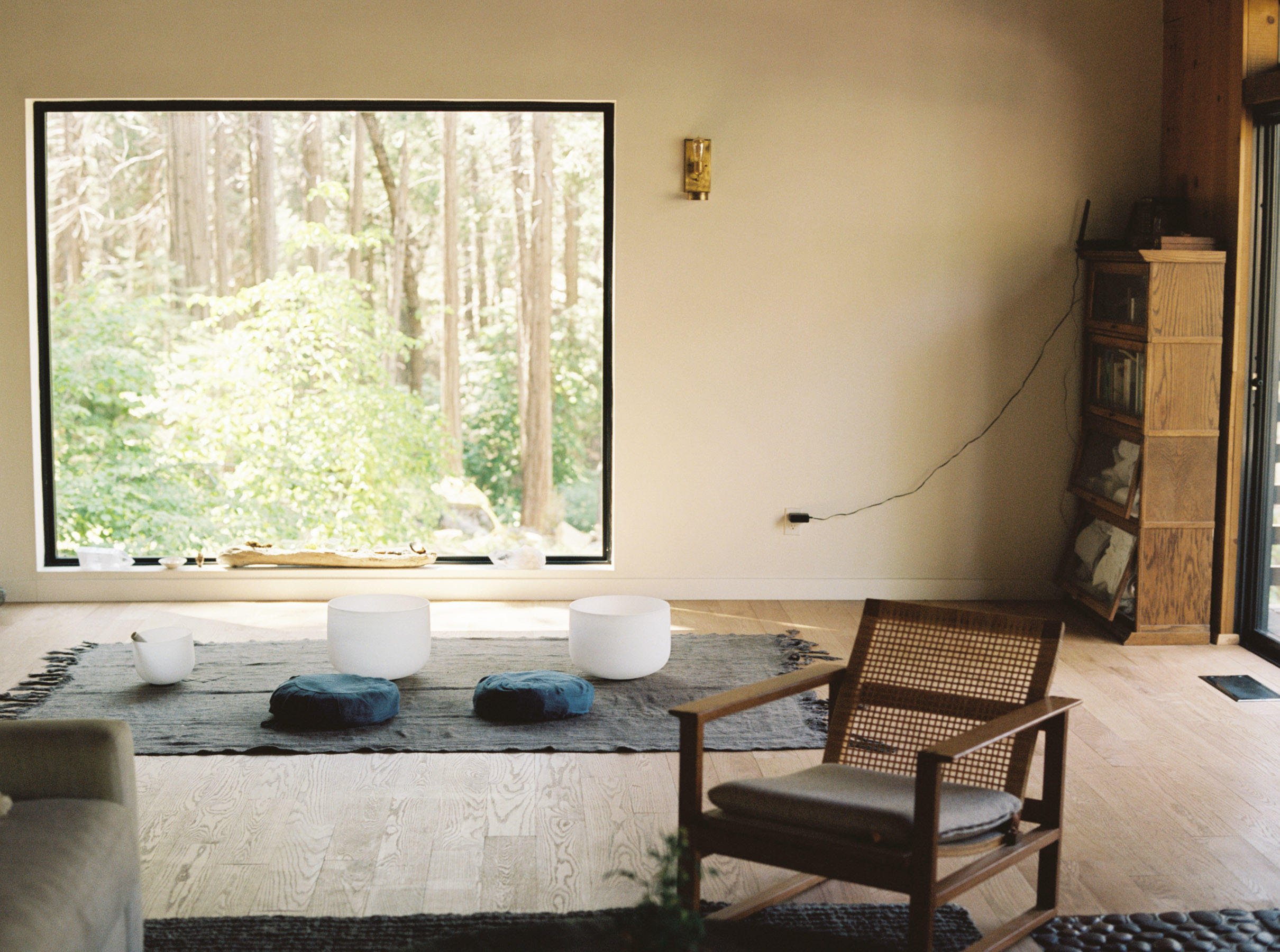 Forest Retreat House, Justin Chung, Lacy Philips, To Be Magnetic