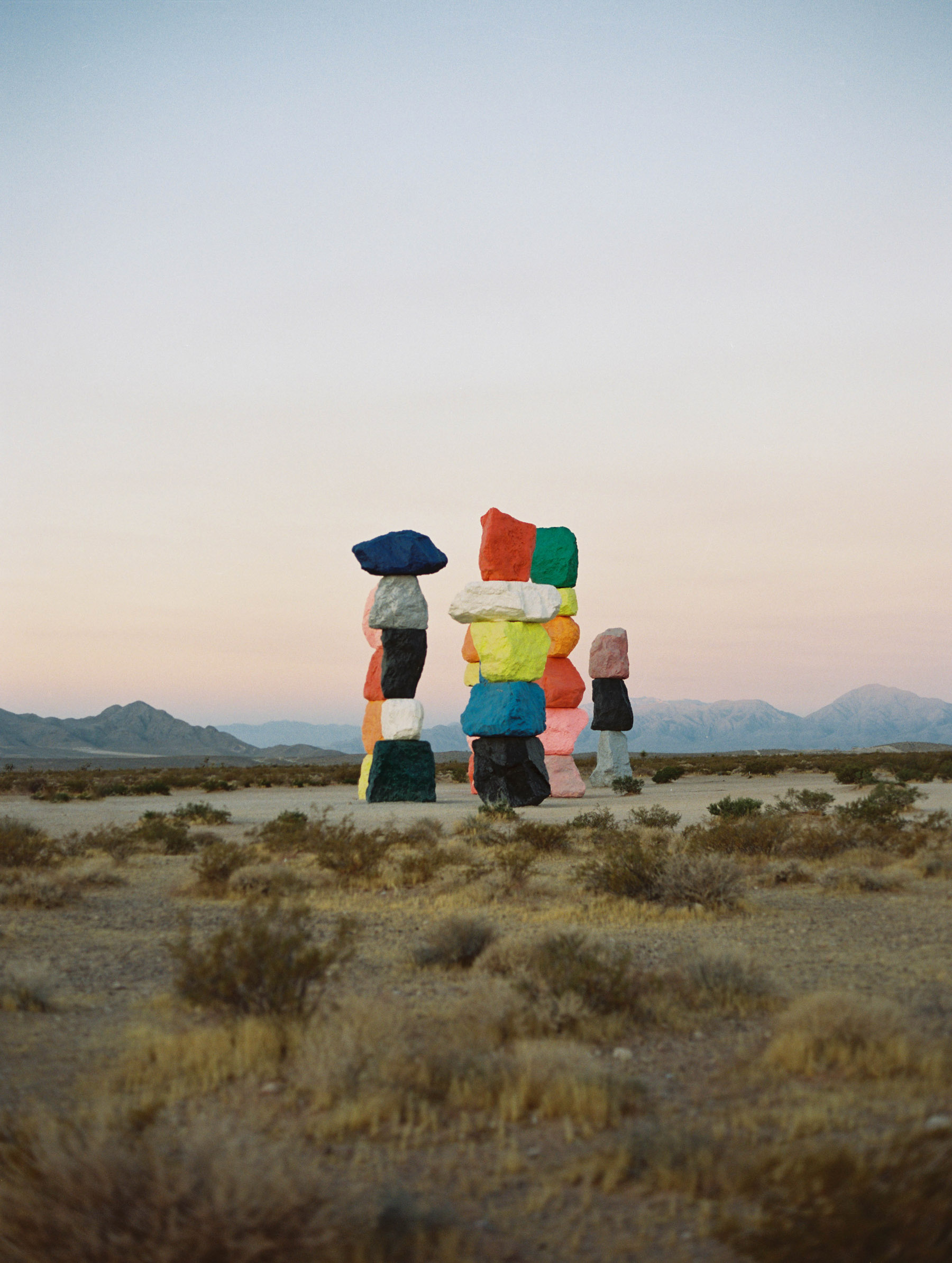Justin Chung, Seven Magic Mountains, Nevada